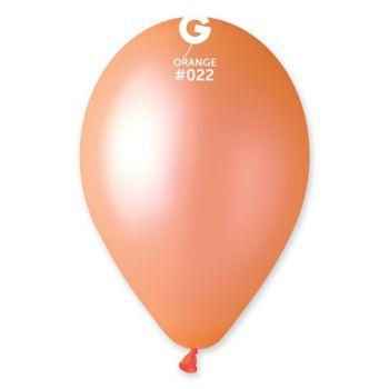 10 Leuchtballons orange Ø30cm
