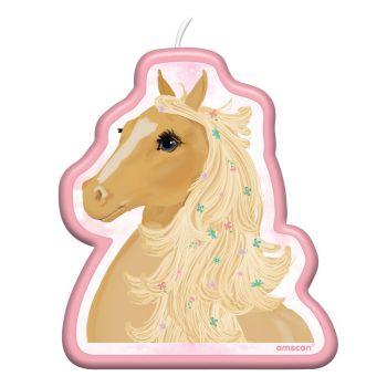 Kerze Blühendes Pferd