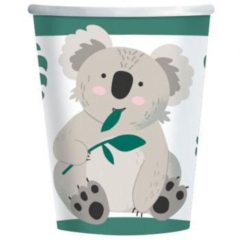 8 Koala-Becher