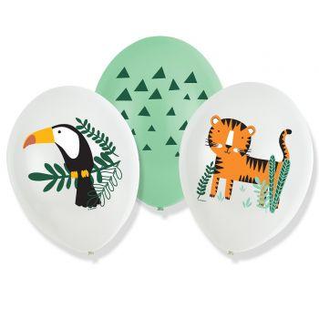 6 Luftballon dschungle Wild