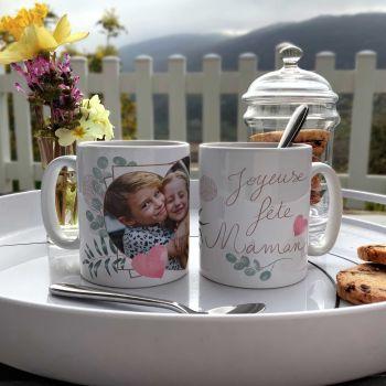 Tasse persönlichen Kulisse Frohe Feiertage Mama