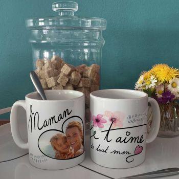 Tasse personifiziert dekoration Mama Ich liebe dich
