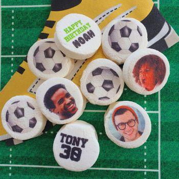 48 Guimize Runde personnalisiert Text Dekoration luftballon Fußball