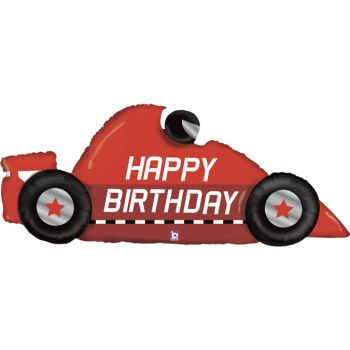 Luftballon Helium-Formel 1 Happy Birthday