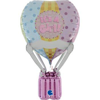 Helium Ballon riesigen blauen Storch