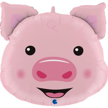 Luftballon Schweine-Helium