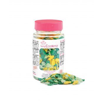 Tropischen Zucker Konfetti Scrapcooking 55g