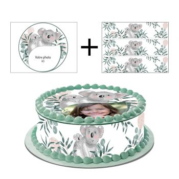Easycake Kit für Kuchen personnalisiert Koala