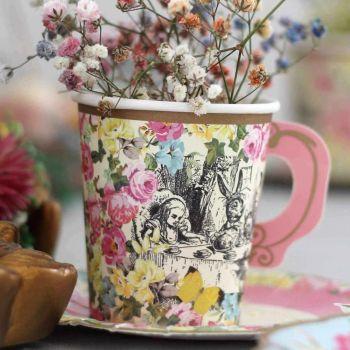 12 Vintage-Tee-Tassen Alice