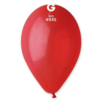 10 Luftballon dunkelrot Ø30cm