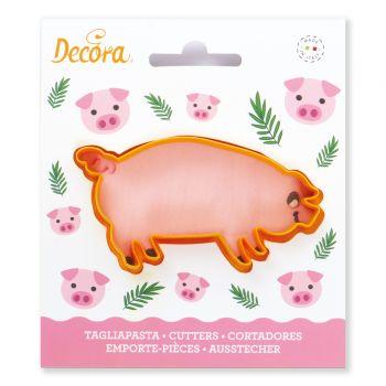 Ausstechform Schwein.