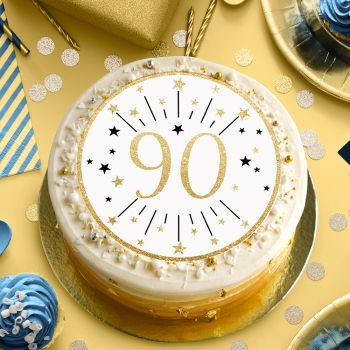 90 JahreTortenaufleger