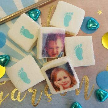 48 Guimize individuelle Bilder dekoriert Blaue Füße
