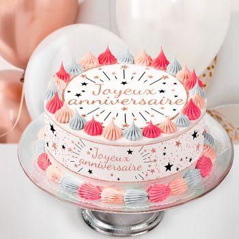 Tortenaufleger kit Easycake Baby Pink