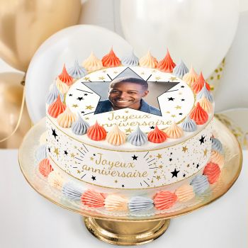 Easycake Kuchen-Kit personnalisiert Happy Birthday