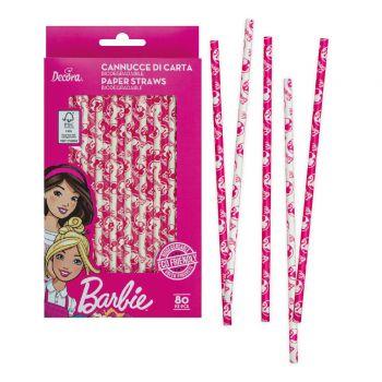 80 Biologisch abbaubare Strohs Barbie