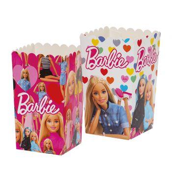 6 Pop Corn Boxen Barbie