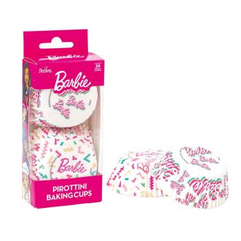 36 Barbie backförmchen