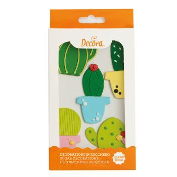 Dekore aus Kaktus zucker