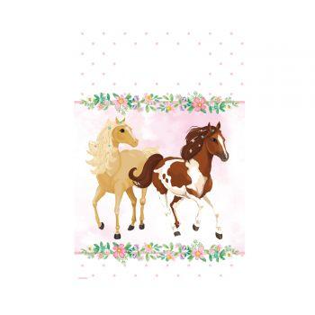 8 Beutel Blühendes Pferd Papier