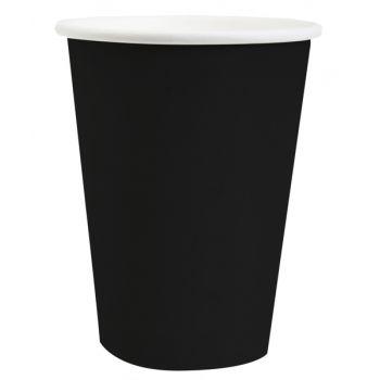 10 kompostierbare Becher schwarz