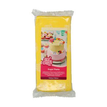 Funcakes Rollfondant gelb 1kg
