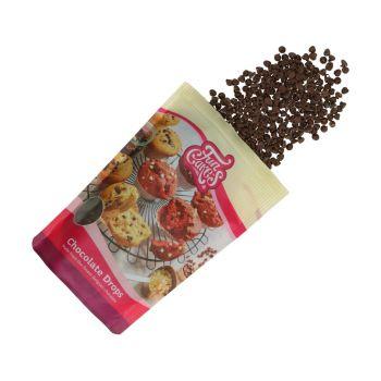 Schwarze Schokolade Tropfen 350gr