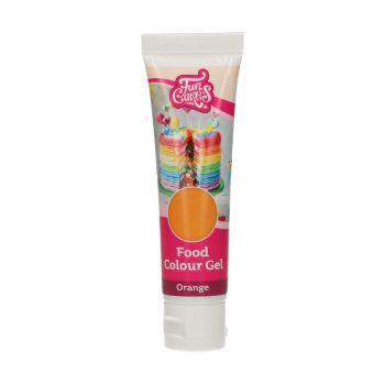 Lebensmittelfarbstoff Gel Funcakes orange
