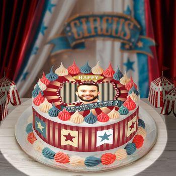 Easycake-Kit für personnalisiert zirkus Vintage-Kuchen