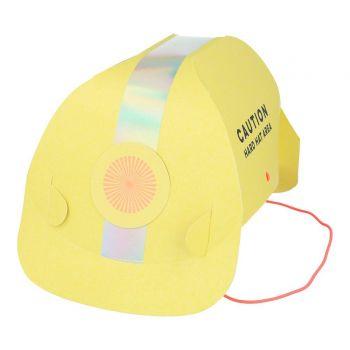 8 Helme party Baustelle