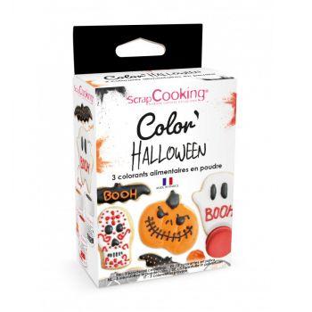 Kit 3 Lebensmittel-Pulver-Kit Halloween Scrapcooking