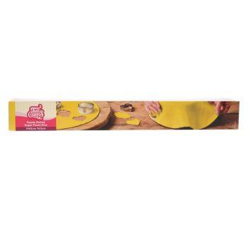 Gestreute Zuckerteig Funcakes gelb