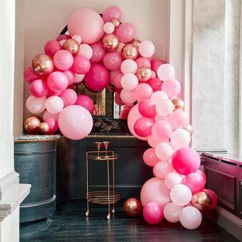 200 luxus 200 luftballon rose and gold bogen Kit
