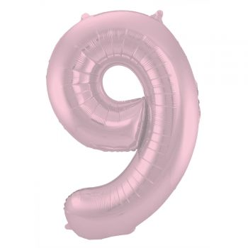 Luftballon riese rosa Figur pastell matt N°9 86cm