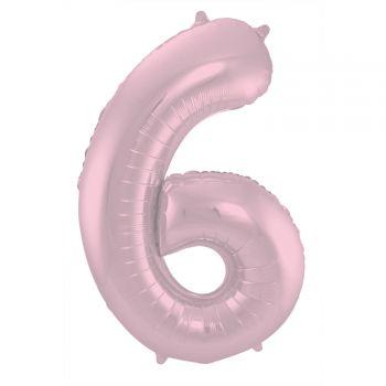 Luftballon riese rosa rosa Matte N°6 86cm