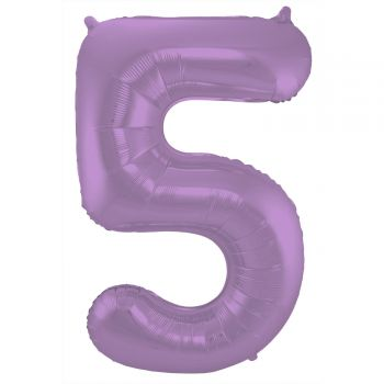 Luftballon riese figur violet matt N°5 86cm