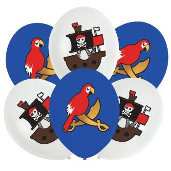 6 Luftballon Pirate