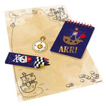 Kit Zeichnung RotEr Pirate