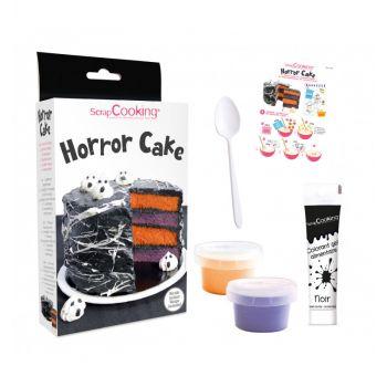 Kit Horror cake Scrapcooking