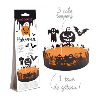 Halloween-Kuchen-Set Scrapcooking