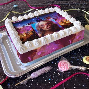 Easycake Kuchen Kit personnalisiert Fornite A4