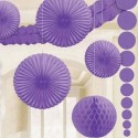 Violette Dekoration