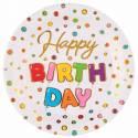 Happy Birthday Color Flash