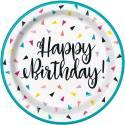 Happy Birthday Confettis Fanionen
