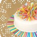 Spitzen,Tortenplatte, Cake Drum