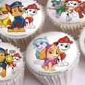Die Essbare Muffinaufleger aus Zucker für cupcakes