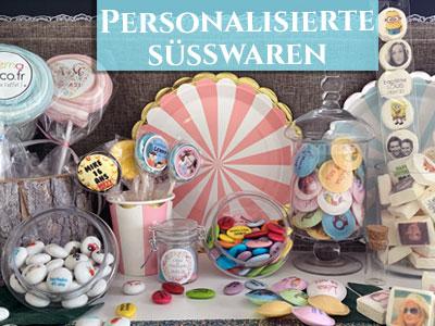 Personalisierte Süßwaren